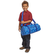 Dino Camo Pattern Duffle Bag for Kids - Bixbee