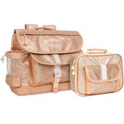 """Sparkalicious Gold"" Backpack & Lunchbox Bundle - Large - Bixbee"
