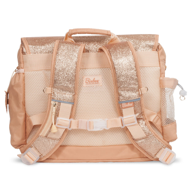 """Sparkalicious Gold"" Backpack - Large - Bixbee"