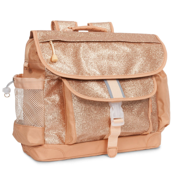 """Sparkalicious Gold"" Backpack for Children - Large - Bixbee"
