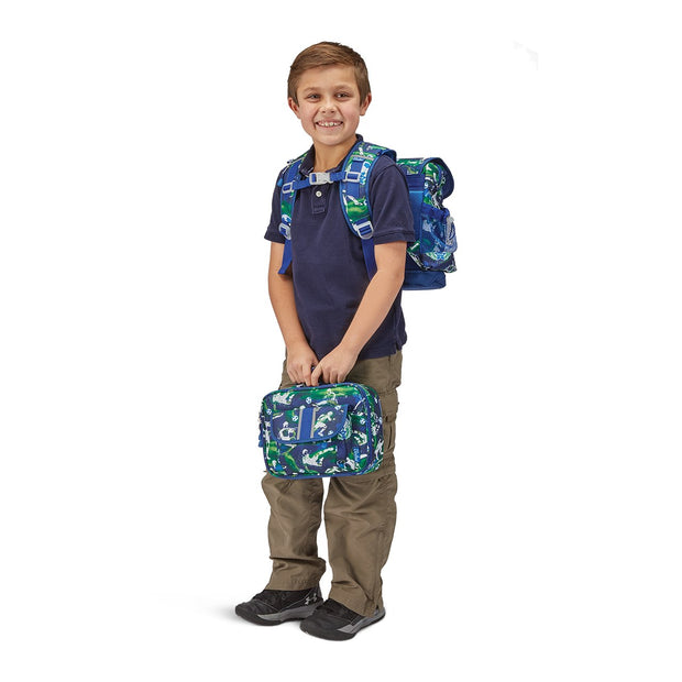 """Soccer Star"" Backpack & Lunchbox Bundle - Large - Bixbee"