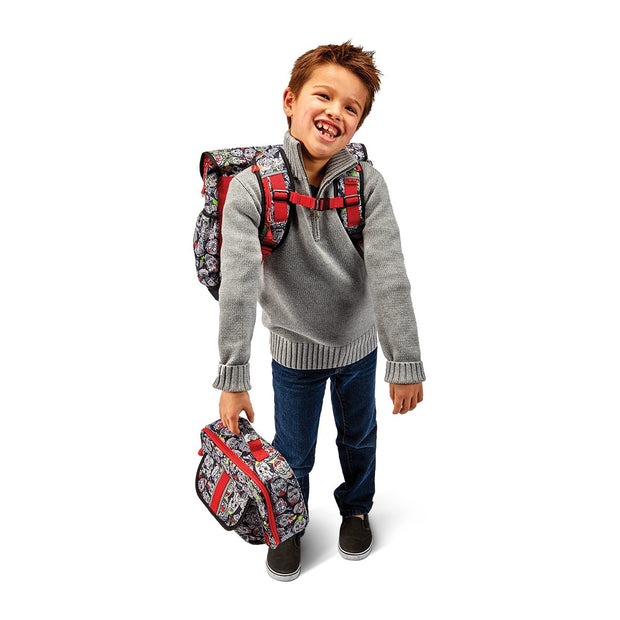 """Zombie Camo"" Backpack & Lunchbox Bundle - Large - Bixbee"
