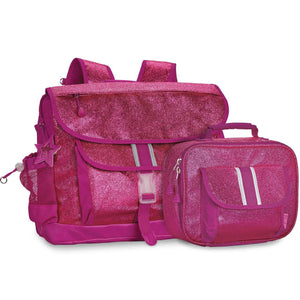 Medium Sparkalicious Ruby Backpack & Lunchbox Bundle