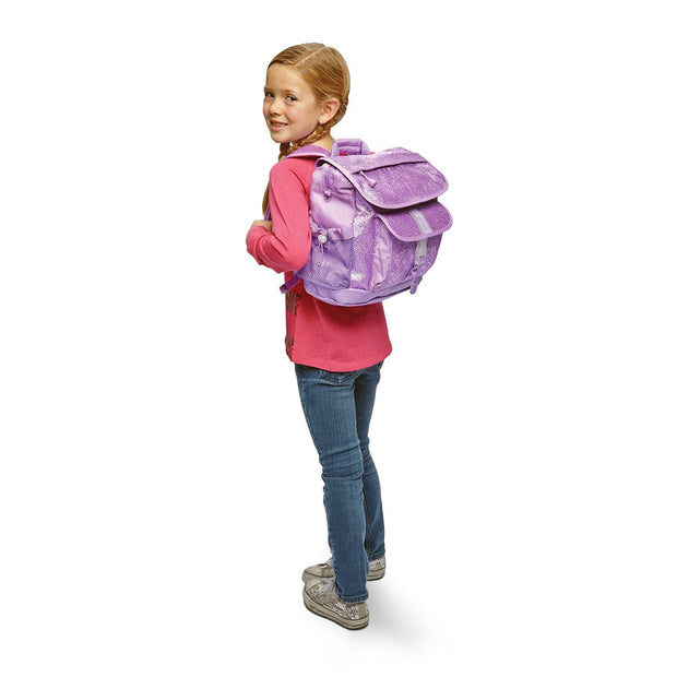 """Sparkalicious™ Purple"" Backpack & Lunchbox Bundle - Large - Bixbee"