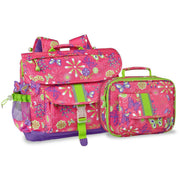"""Butterfly Garden"" Backpack & Lunchbox Bundle - Medium - Bixbee"