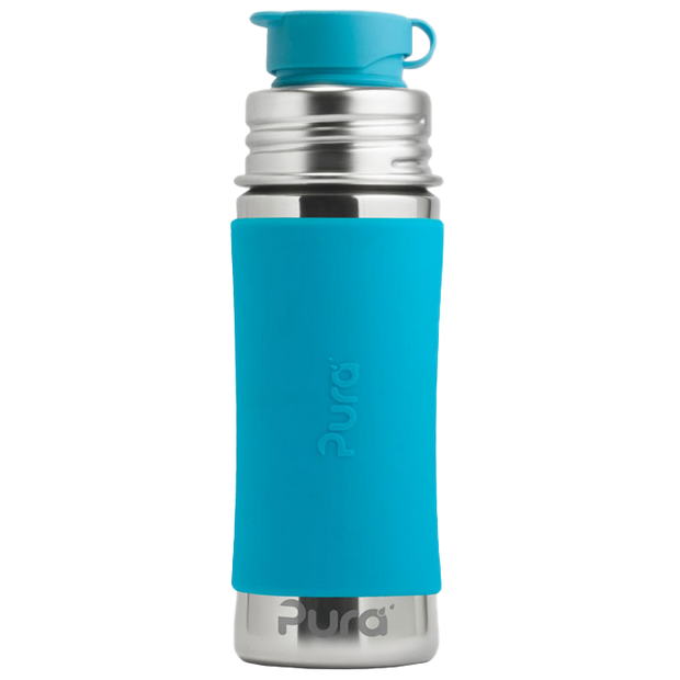 Pura 11oz Sport Mini™ Bottle w/ Sleeve - Bixbee