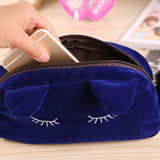 Kitty Soft Make Up Bag