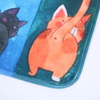 Kiss My Back Watercolor Mat