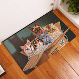 Anti-Slip Welcome Kitchen Rug