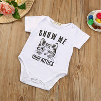 Show Me Your Kitties Romper