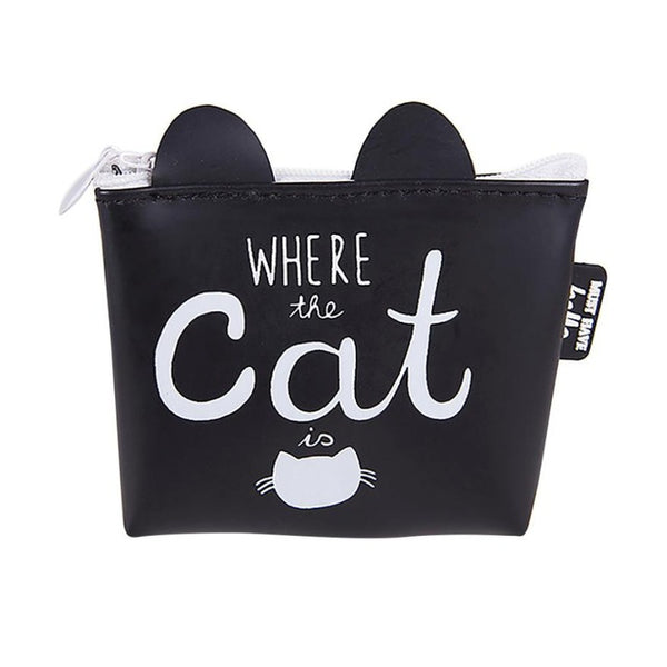 Cat Phrased Coin Purse
