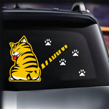 Moving Tail Car Window Decal