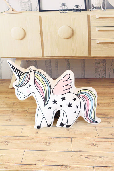 Caticorn & Ice Cream Pillows