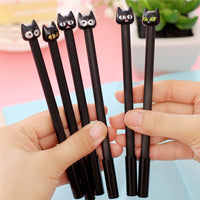 Black Cat Rollerball Pens 4pcs