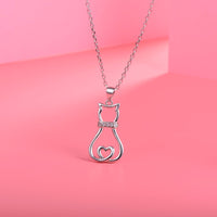 Lovely Chilling Cat Necklace
