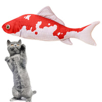 Koi Fish Kitten Toy