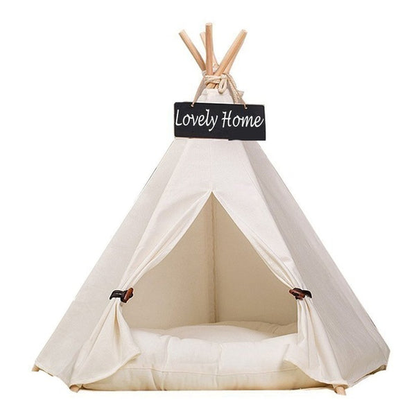 Canvas Kitten Teepee
