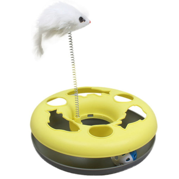 Spinning Ball Cat Toy