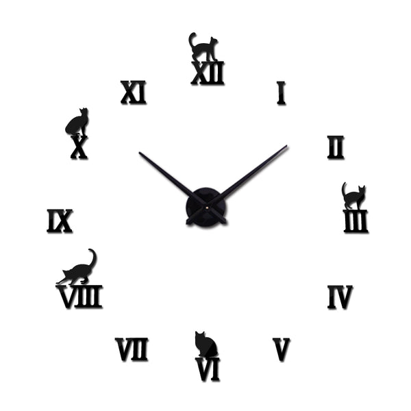 Decorative Cat Wall Clocks
