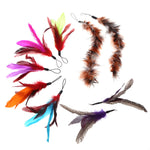 Cat Teaser Feather Refill 9pcs