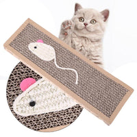 Cat Scratch Catnip Board