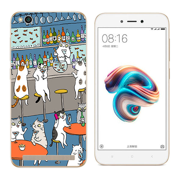 Xiaomi Redmi 5 Catscape Cover