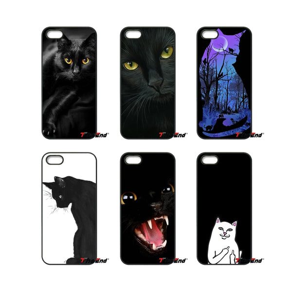 Black Storm Cat Phone Case
