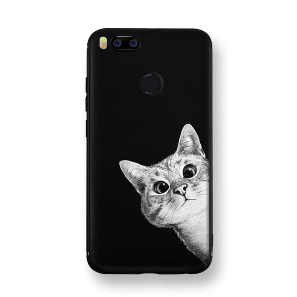 Cat on the Moon Xiaomi 5X Cover