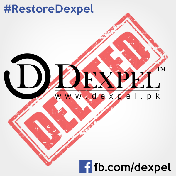 Dexpel Facebook Page Got Removed
