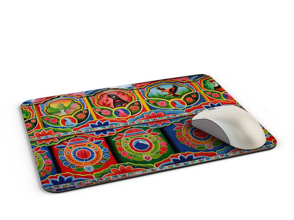 Truck art kerala pattern Mousepad