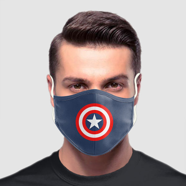 Captain America Shield mask