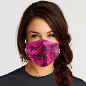 Heart Design mask