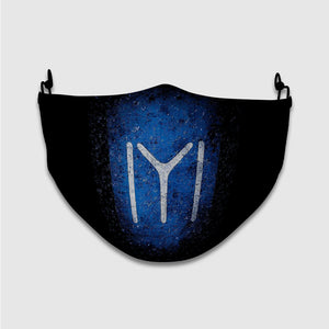 Ertugrul Tribe Symbol with Blue Background