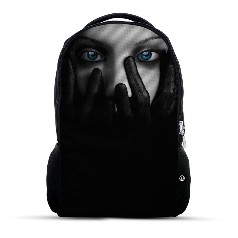 Gothic Face with hands covering