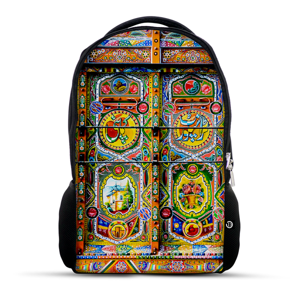 Truck Art backpack