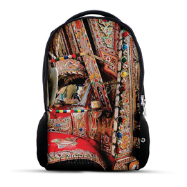 Truck Art with truck front pattern backpack