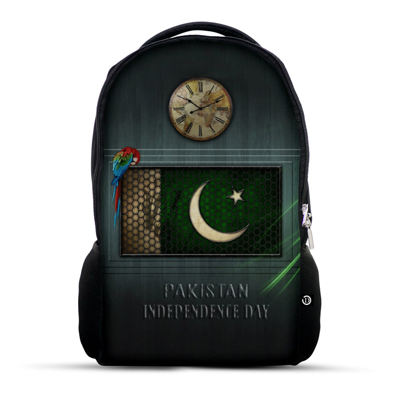 Parrot Pakistan Flag Bag