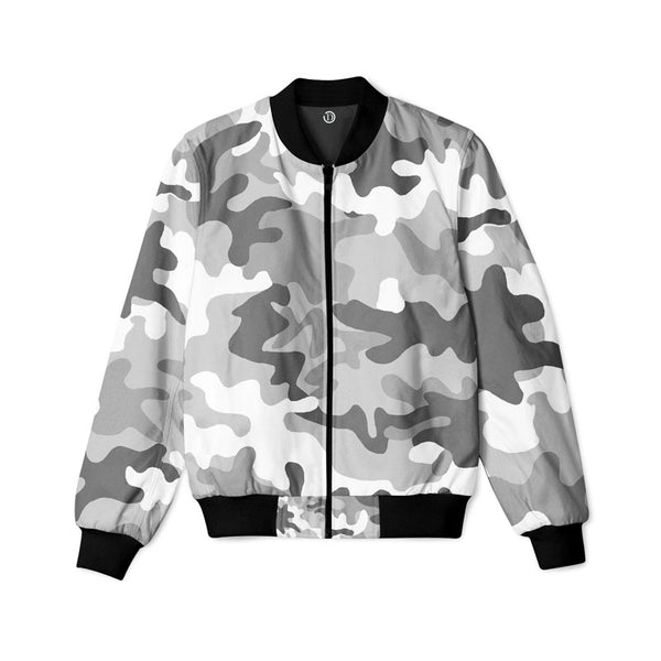 Camouflage Grey Pattern