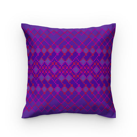 Small Purple Box Pattern Style