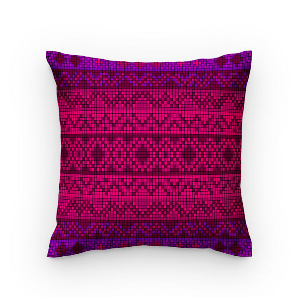 Small Pink & Purple Box Pattern Style
