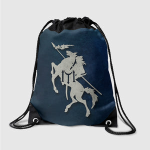 Ertugrul Horse with Blue Background