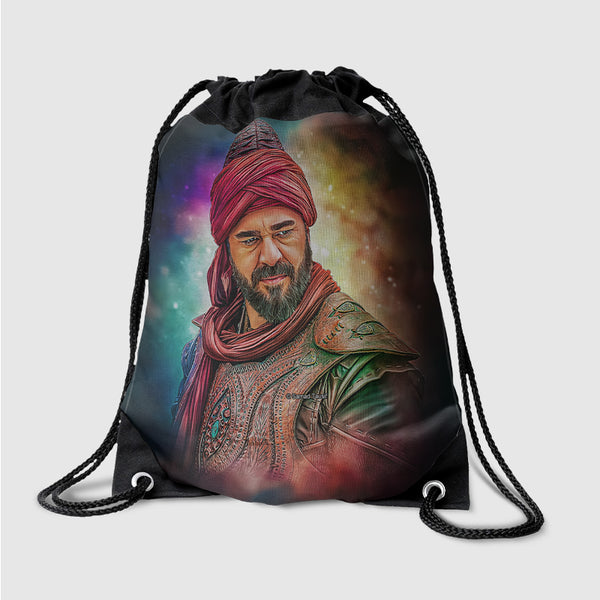 Ertugrul with Rainbow Background