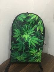 Weed Leaves BackPack