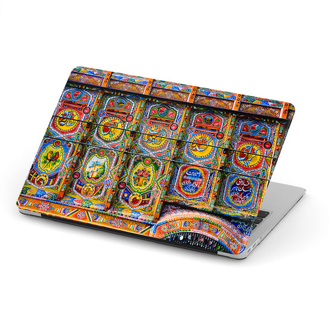 Truck art laptop skin
