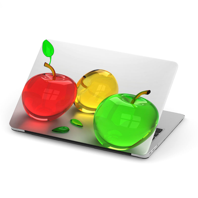 3D Crystal Colourful Apples