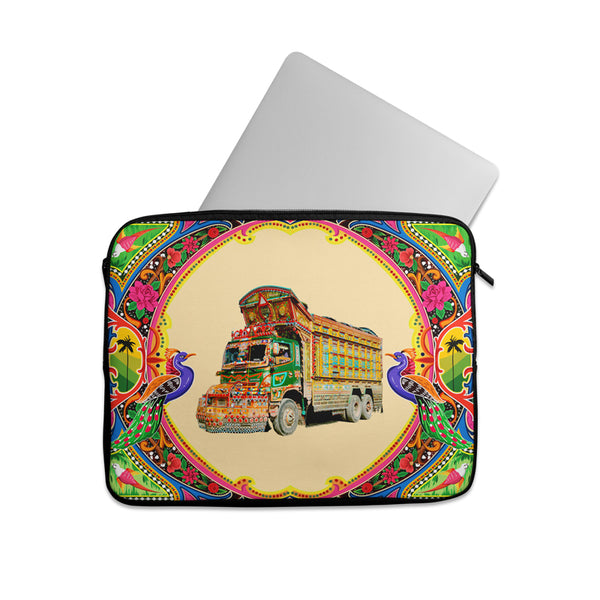 Truck art with truck Laptop sleeve
