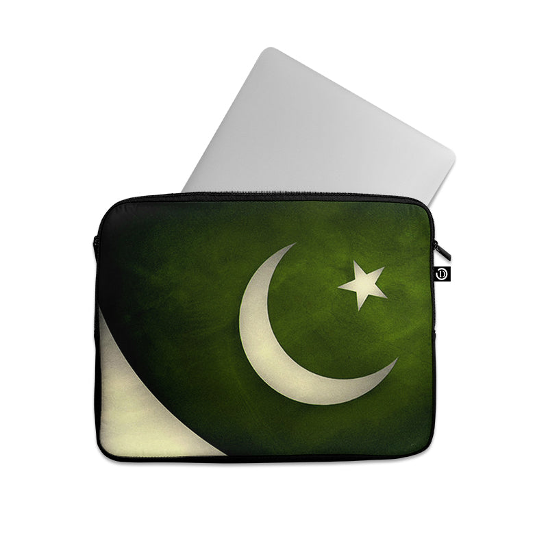 Pakistani Flag Vintage Background