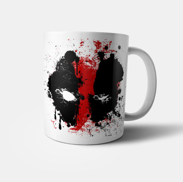 Deadpool mask mug