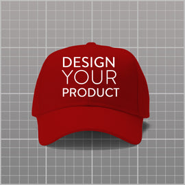 Custom P-Cap - Red - zakeke-design