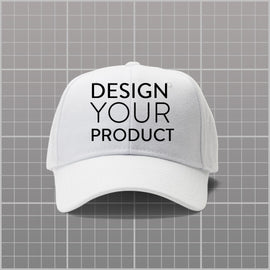 Custom P-Cap - White - zakeke-design